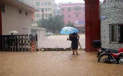 洪水浸泡悬浮门