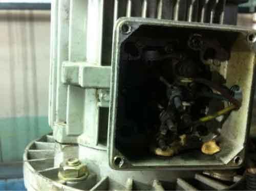 悬浮门电机电枢绕组接地故障的排除方法