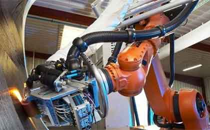 电动悬浮折叠门厂家机器人取代人工